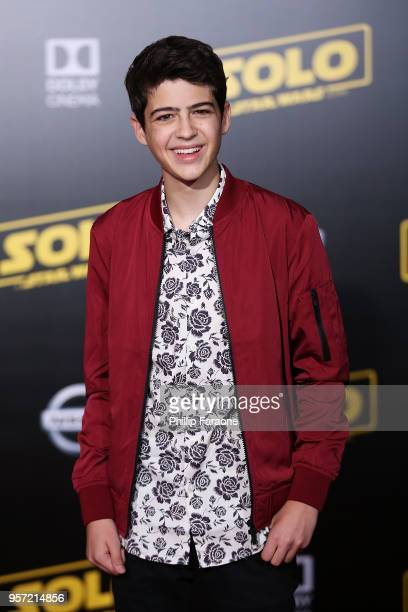 Joshua Rush attends the premiere of Disney Pictures and Lucasfilm's Solo A Star Wars Story on May 10 2018 in Hollywood California