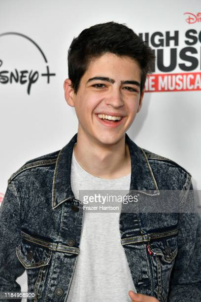 """Joshua Rush attends the Premiere Of Disney+'s """"High School Musical: The Musical: The Series"""" at Walt Disney Studio Lot on November 01, 2019 in..."""