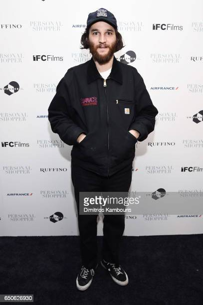 Joshua Safdie attends the 'Personal Shopper' premiere at Metrograph on March 9 2017 in New York City