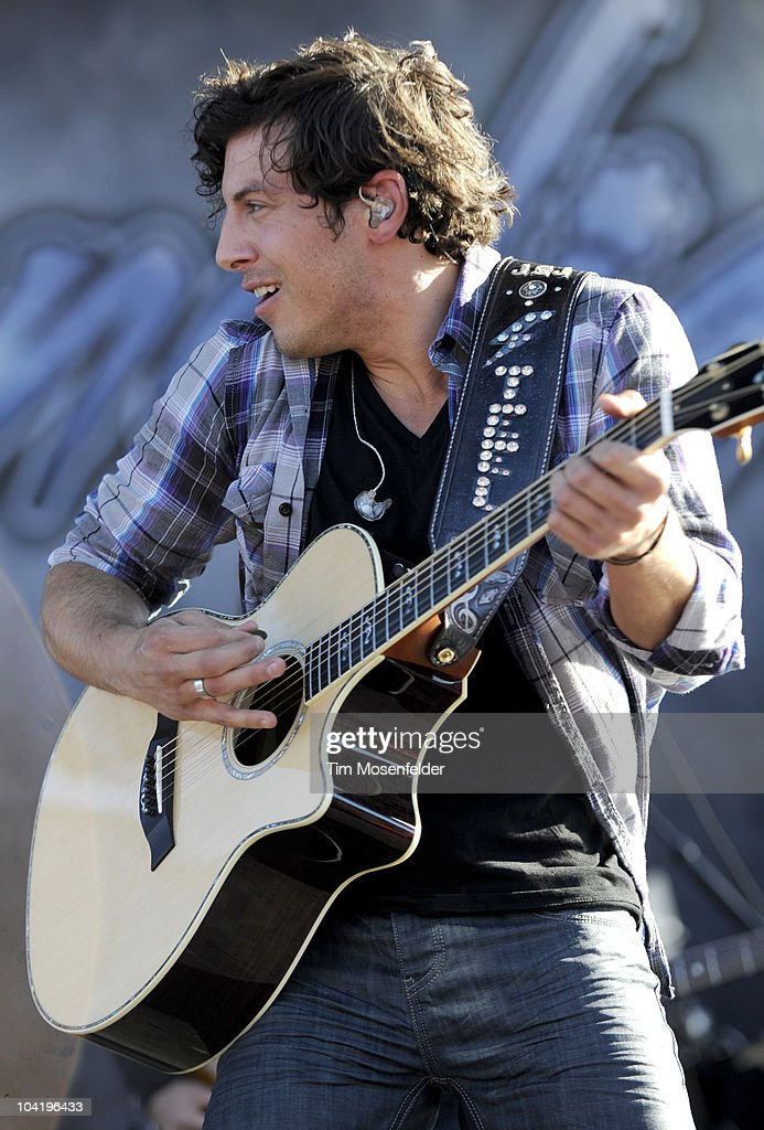 Joshua Scott Jones of Steel Magnolia performs in advance of their self titled release at Shoreline Amphitheatre on September 15, 2010 in Mountain View, California.