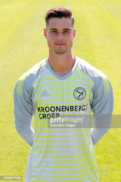 Joshua Smits of Almere City during the Photocall Almere City at the Yanmar Stadium on July 16 2018 in Almere Netherlands