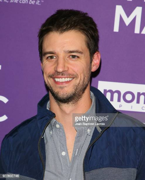 Joshua Snyder attends the premiere of Momentum Pictures' 'Half Magic' at The London West Hollywood on February 21 2018 in West Hollywood California