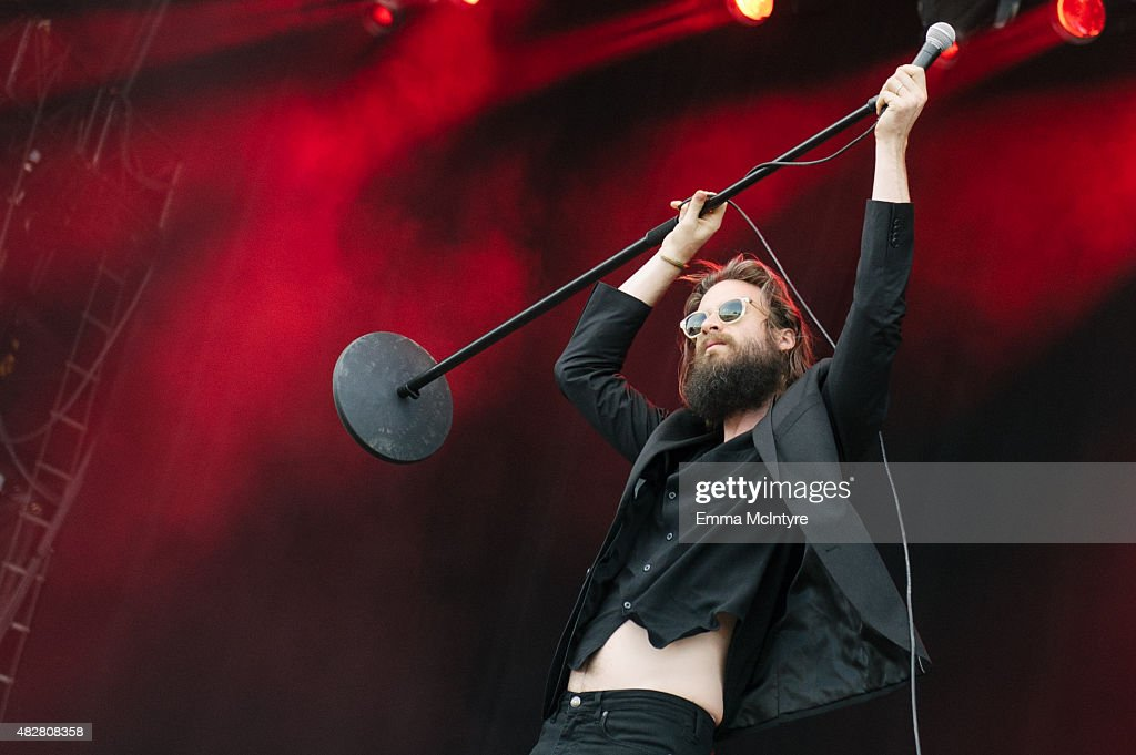 Joshua Tillman aka Father John Misty performs live on Day Three of the Osheaga Music and Arts Festival on August 2, 2015 in Montreal, Canada.