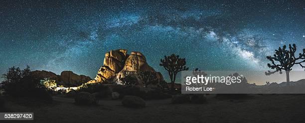 Joshua Tree Milky way panorama