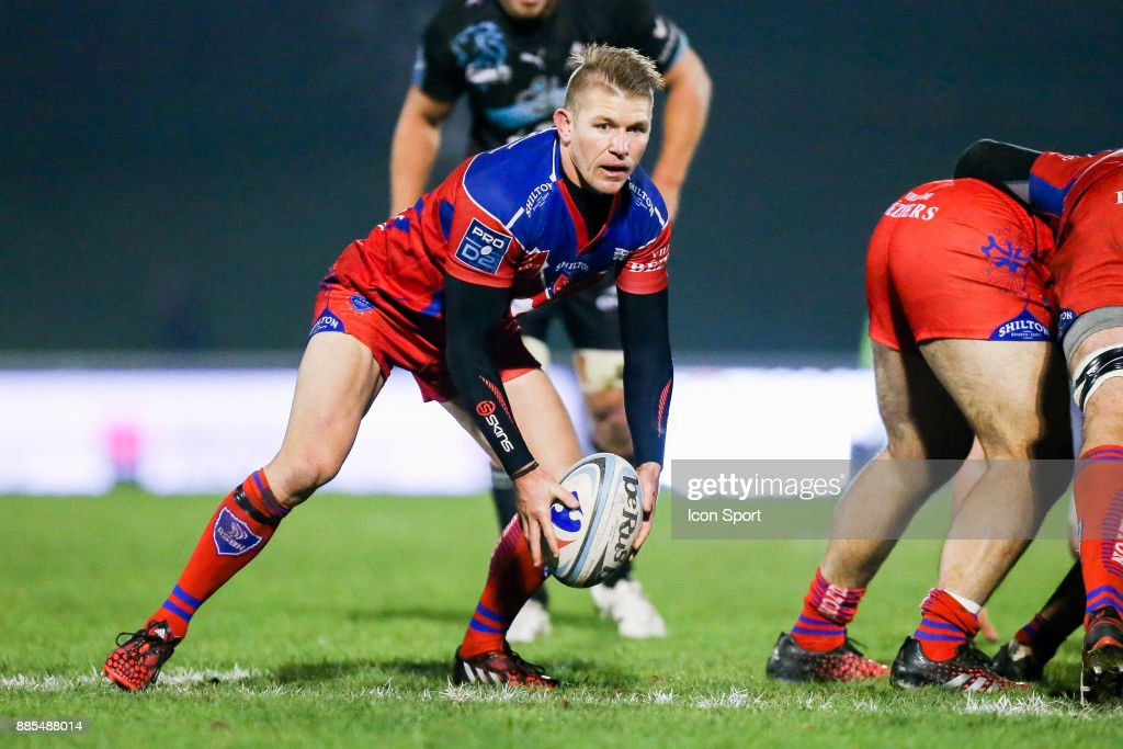 Joshua Valentine Of Beziers During The Pro D2 Match Between Massy And  Beziers On December 1