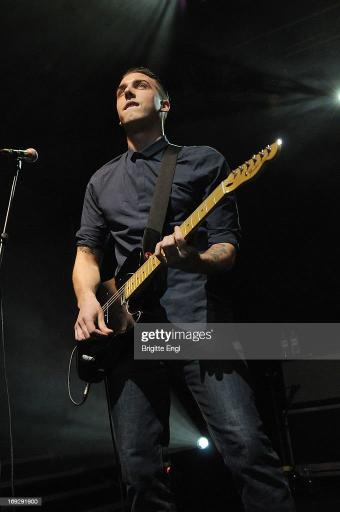 Joshua Waters Rudge of The Skints performs on stage at KOKO on May 22, 2013 in London, England.
