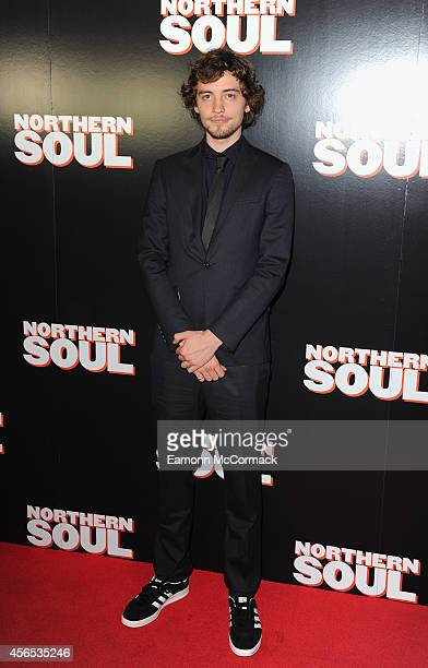 Joshua Whitehouse attends the UK Gala screening of 'Northern Soul' at Curzon Soho on October 2 2014 in London England