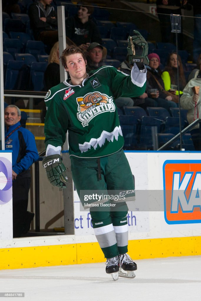 Everett Silvertips v Kelowna Rockets : News Photo