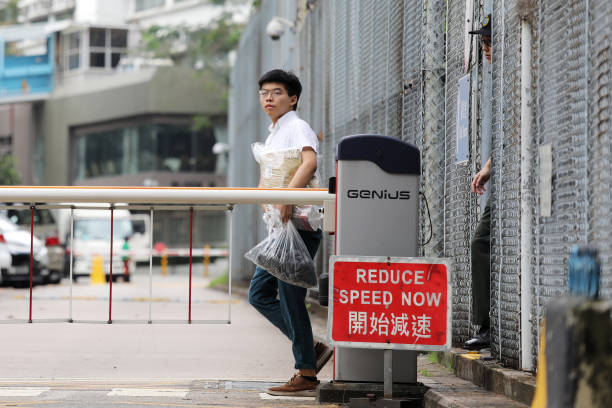 HKG: Hong Kong Activist Joshua Wong Released Early From Prison