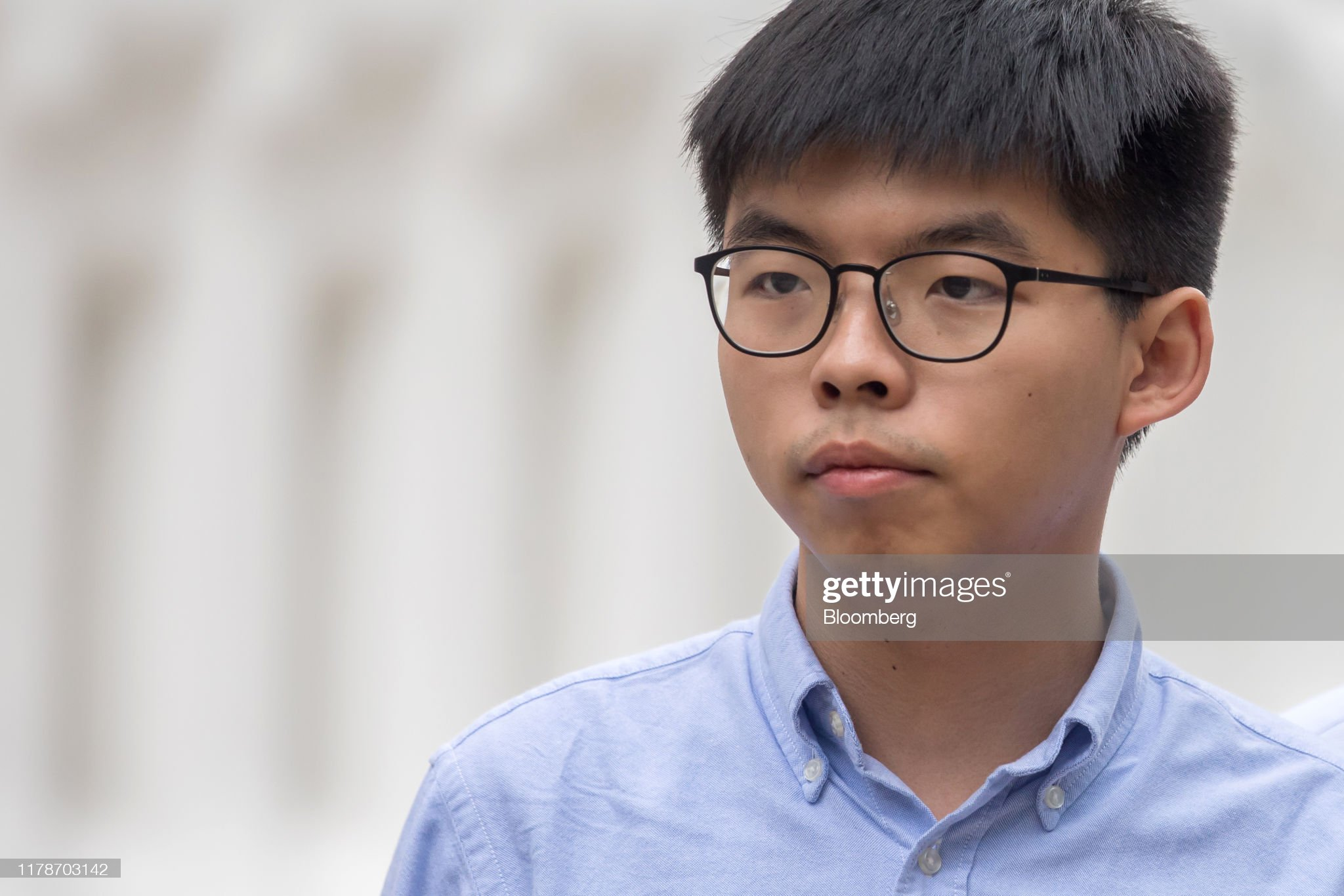 Hong Kong Bars Activist Joshua Wong From Running In Election : Nachrichtenfoto