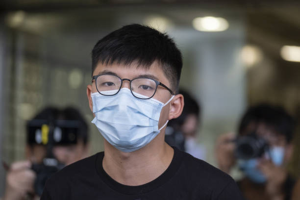 CHN: Hong Kong Activist JoshuaWong Makes Court Appearance Over Oct. 19 Protest