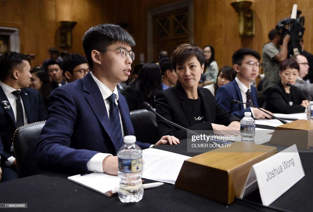 US-CHINA-POLITICS-UNREST : News Photo