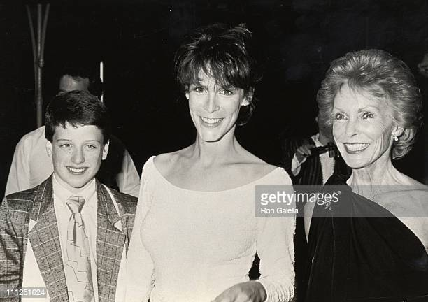 Joshua Zuehlke Jamie Lee Curtis and Janet Leigh during 1987 AFI Film Festival Amazing Grace and Chuck Screening at Mann's Theater in Hollywood...