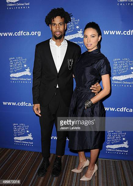 Josiah Bell and Jurnee SmollettBell attend the 25th annual Children's Defense Fund Beat The Odds Awards at the Beverly Wilshire Four Seasons Hotel on...