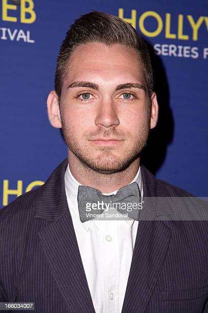 Josiah Sampson attends the 2nd annual HollyWeb Festival at Avalon on April 7 2013 in Hollywood California