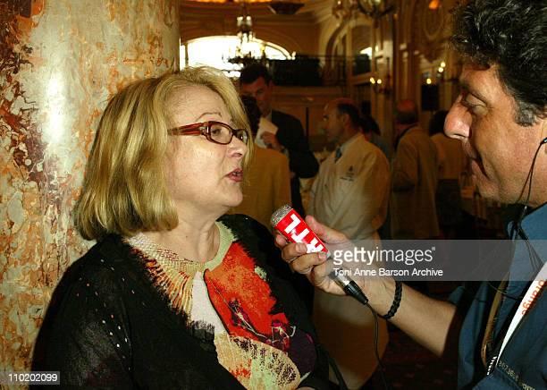 Josiane Balasko during 2004 Cannes Film Festival - Cinema Gastronomie Lunch at Carlton Hotel in Cannes, France.