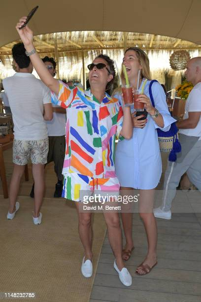 Josie and Carla Hinojosa celebrate the start of summer with Casamigos at Nobu Hotel Marbella and Puente Romano on May 10 2019 in Marbella Spain