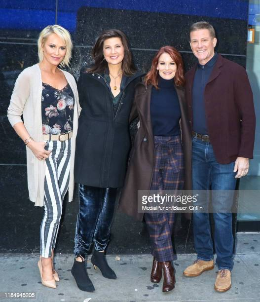 Josie Bissett Daphne Zuniga Laura Leighton and Doug Savant are seen on November 26 2019 in New York City