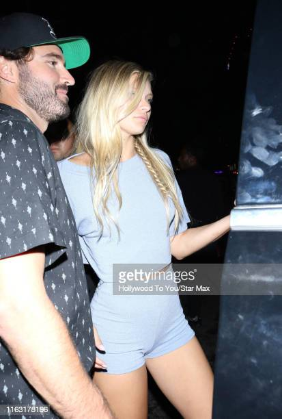 Josie Canseco and Brody Jenner are seen on August 21 2019 at Los Angeles