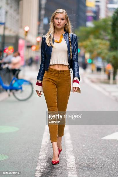 Josie Canseco attends fittings for the 2018 Victoria's Secret Fashion Show in Midtown on November 1 2018 in New York City