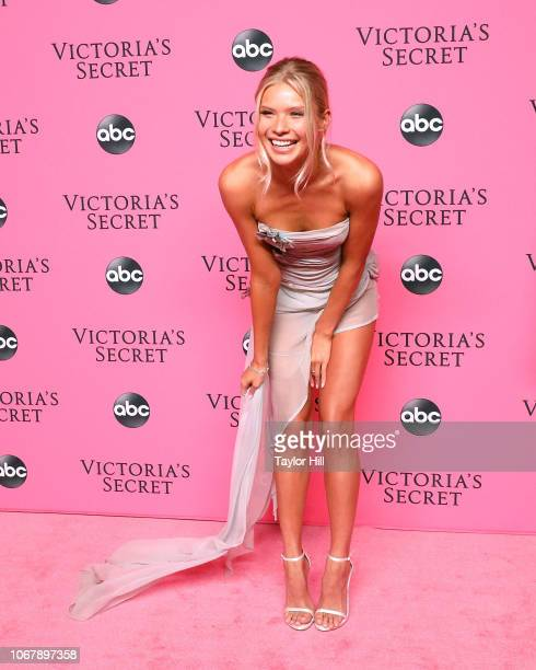 Josie Canseco attends the 2018 Victoria's Secret Fashion Show Viewing Party at Spring Studios on December 2 2018 in New York City