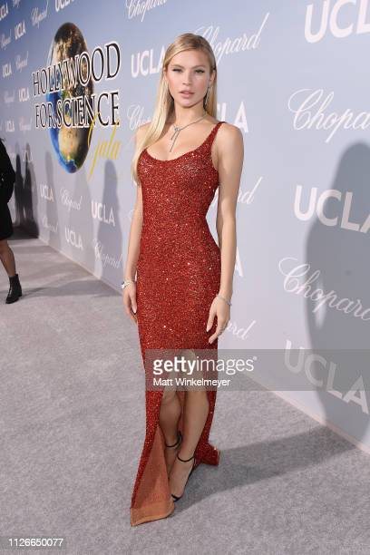 Josie Canseco attends the UCLA IoES honors Barbra Streisand and Gisele Bundchen at the 2019 Hollywood for Science Gala on February 21 2019 in Beverly...