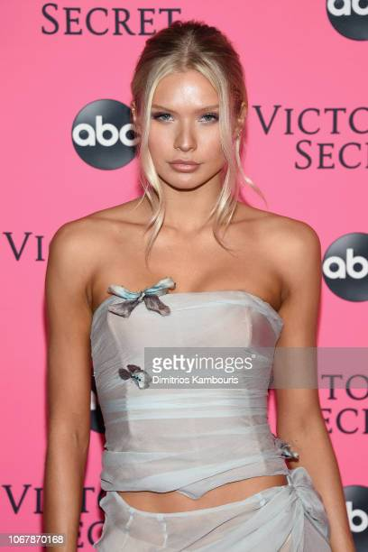 Josie Canseco attends the Victoria's Secret Viewing Party ar Spring Studios on December 2 2018 in New York City
