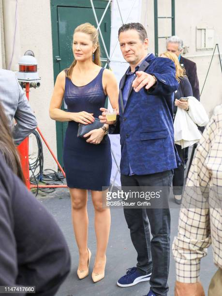Josie Davis and Tom Malloy are seen on June 01 2019 in Los Angeles California