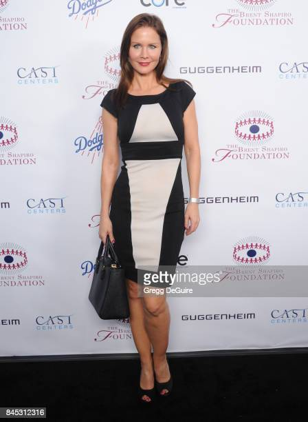 Josie Davis arrives at the annual Brent Shapiro Foundation For Alcohol and Drug Prevention Summer Spectacular at a Private Residence on September 9...