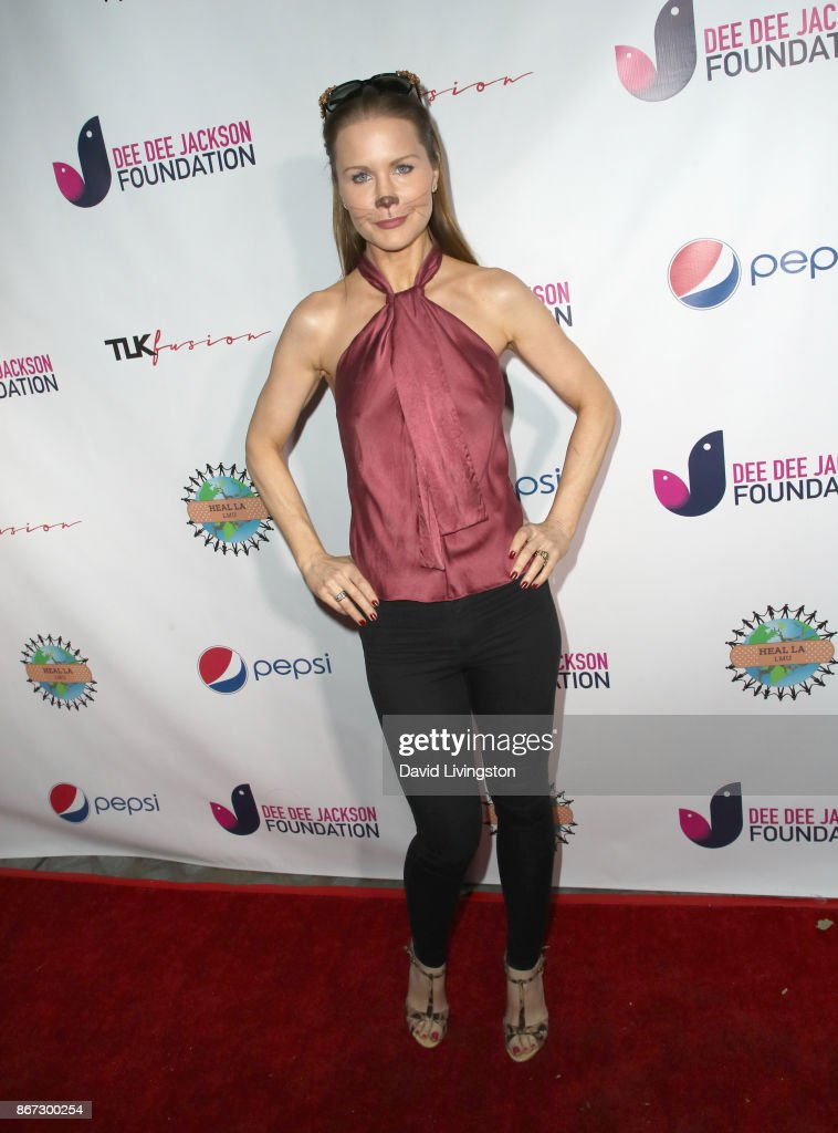 Josie Davis at Prince Jackson's Heal LA and TLK Fusion Present the 2nd Annual Costume for a Cause at Jackson Family Home on October 27, 2017 in Encino, California.