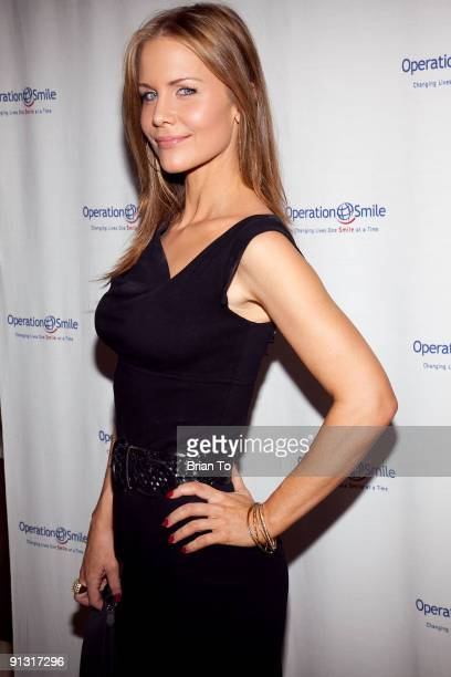 Josie Davis attends 8th Annual Operation Smile PreGala KickOff Reception at Lladro Boutique on October 1 2009 in Beverly Hills California