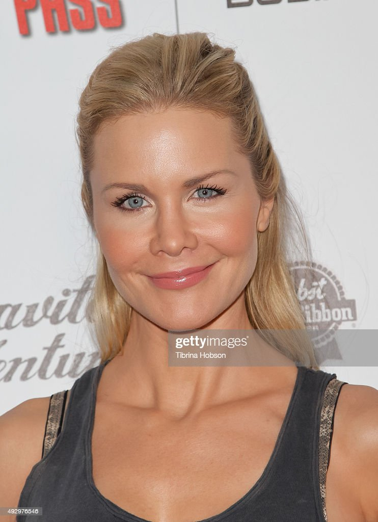 Josie Davis attends the premiere of 'All Things Must Pass' at Harmony Gold Theatre on October 15, 2015 in Los Angeles, California.