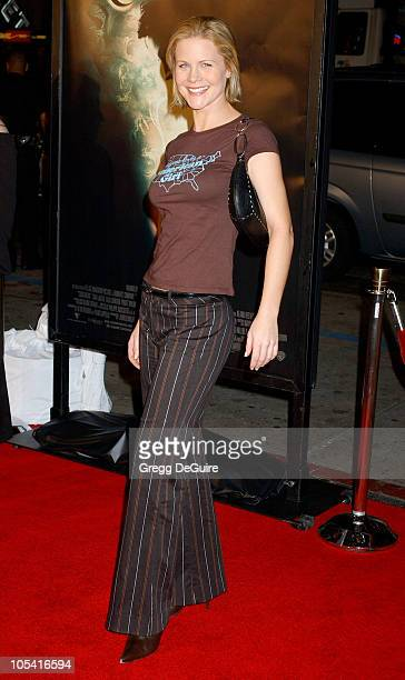 Josie Davis during Constantine Los Angeles Premiere Arrivals at Grauman's Chinese Theatre in Hollywood California United States