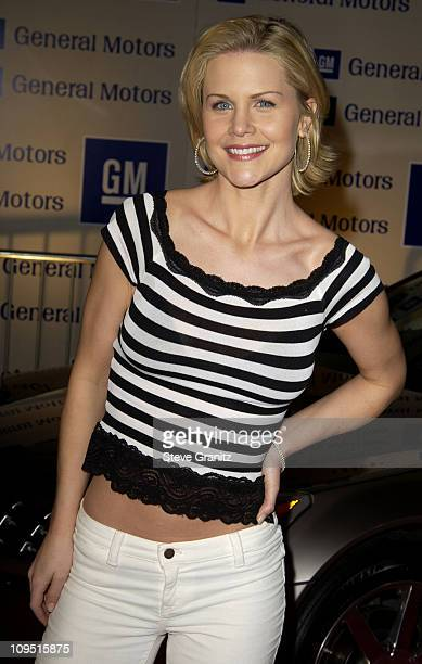 Josie Davis during GM Ten Celebrates 75 Years of Film with Celebrity Fashion Show Arrivals in Hollywood California United States