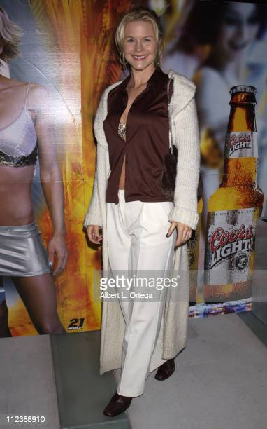 Josie Davis during Jaime Pressly Announced as the 2002 Coors Light Queen of Halloween to Benefit The St Jude Children's Research Hospital at W Hotel...
