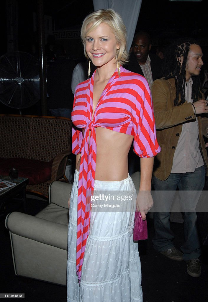Josie Davis during Samsung and T-Mobile 'Now and Thin' in Hollywood Hosted by Jeremy Piven at Cabana Club in Hollywood, California, United States.