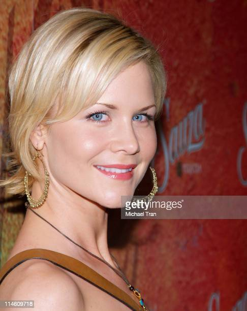 Josie Davis during Sauza Tequila's 2006 Cinco de Mayo Party Hosted by Jeremy Piven Arrivals at Velvet Margarita in Hollywood Califonia United States
