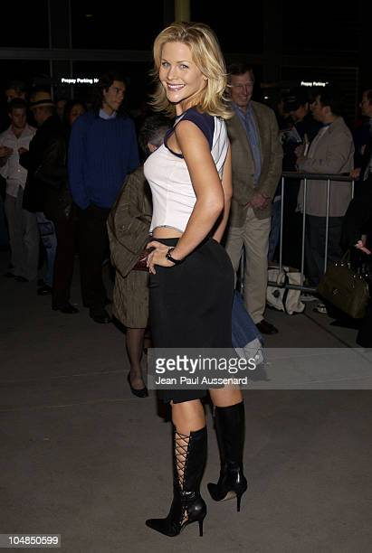 Josie Davis during Sonny Premiere Los Angeles at ArcLight Hollywood in Hollywood California United States