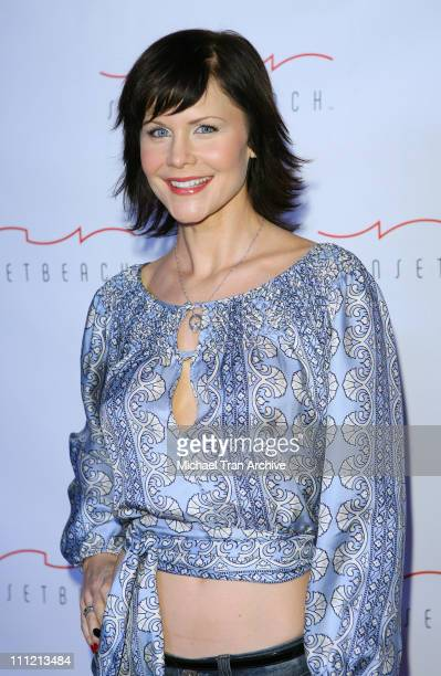 Josie Davis during Sunset Beach Grand Opening November 29 2006 at Sunset Beach Restaurant and Lounge in Los Angeles California United States