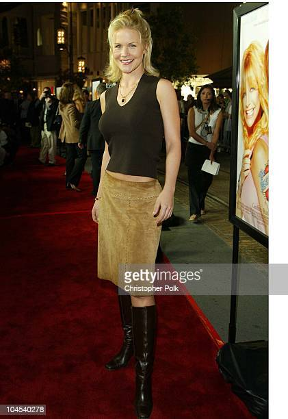 Josie Davis during The Banger Sisters Premiere Arrivals at The Grove Stadium 14 Theatres in Los Angeles California United States