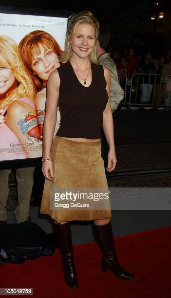 Josie Davis during The Banger Sisters Premiere Los Angeles at The Grove Stadium 14 Theatres in Los Angeles California United States