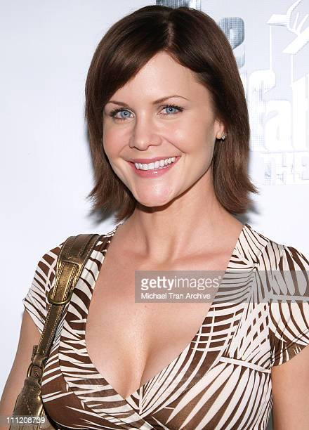 Josie Davis during The Godfather the Game on XBOX 360 Party at Stone Rose Lounge in Los Angeles California United States