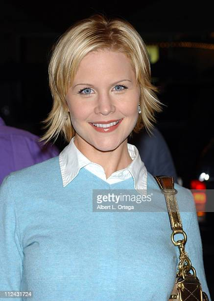 Josie Davis during This Girl's Life Los Angeles Premiere Red Carpet at Regent Theater in Los Angeles California United States