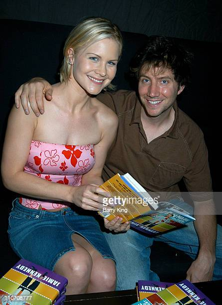 Josie Davis Jamie Kennedy during Jamie Kennedy Book Release Party at Shelter in West Hollywood California United States