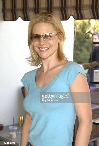 Josie Davis wearing Burberry 8933/s Sunglasses during Safilo Partners with Solstice Sunglass Store Cain at The Cabana Beauty Buffet Day 1 at Chateau...