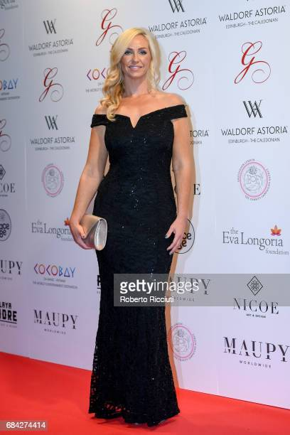 Josie Gibson attends The Global Gift Gala Edinburgh at The Caledonian Hotel on May 17 2017 in Edinburgh Scotland