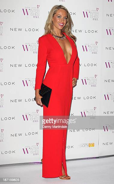 Josie Gibson attends the New Look Winter Wishes Charity Ball at Battersea Evolution on November 6 2013 in London England