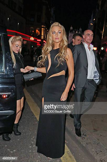 Josie Gibson is seen on February 03 2013 in London United Kingdom