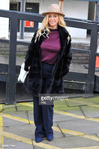 Josie Gibson seen at the ITV Loose Women studios on February 16 2017 in London England