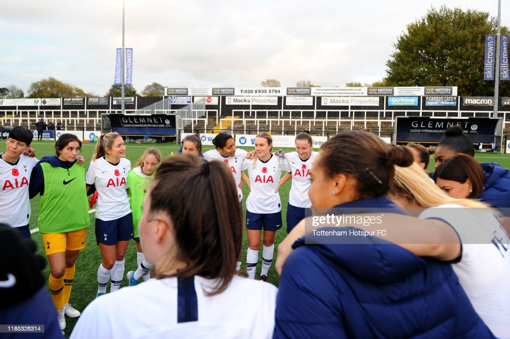 Crystal Palace Women v Tottenham Hotspur Women - FA Women's Continental League Cup : News Photo
